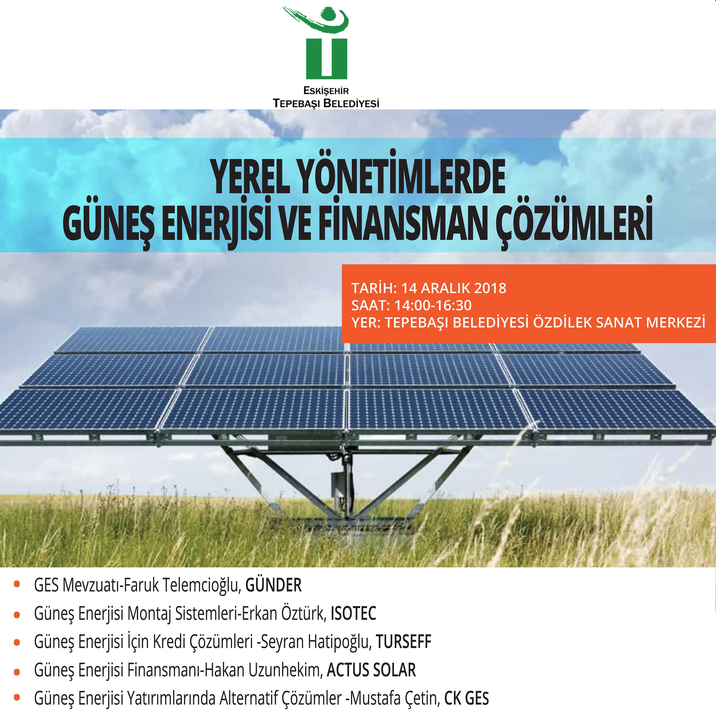 Tepebaşı Belediyesi Günder Güneş Finasmanı Final Gör Solarist