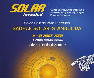 Solar İstanbul Güneş Enerjisi Fuarı 2020